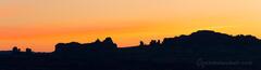 Arches Skyline Sunrise Panorama print