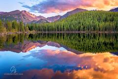 Autumn Alpenglow Long's Peak print
