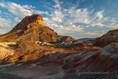 Cerro Castellan and Tuff Canyon print