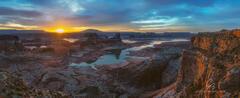 Glen Canyon Sunrise Panorama print