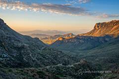 Juniper Canyon Sunrise print