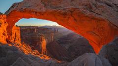 Mesa Arch Dawn Light print