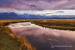 Owens River Sunset #2 print