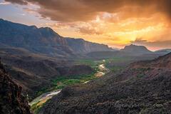 Rio Grande Sunset print